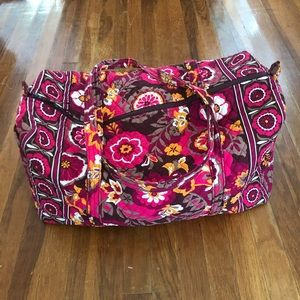 Iconic Large Vera Bradley Travel Duffle